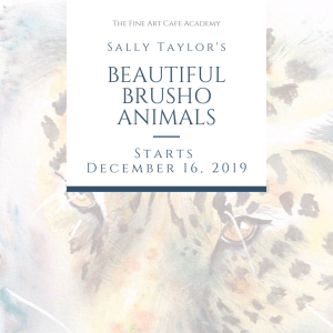 Beautiful Brusho Animals Online Course