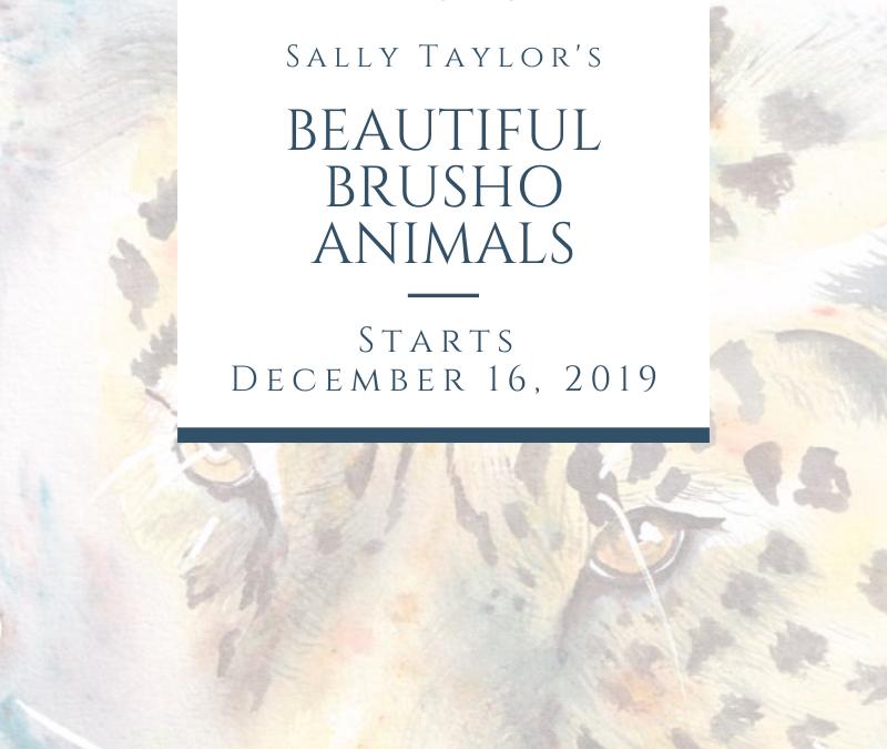 Beautiful Brusho Animals Online Course