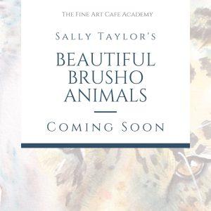 Beautiful Brusho Animals