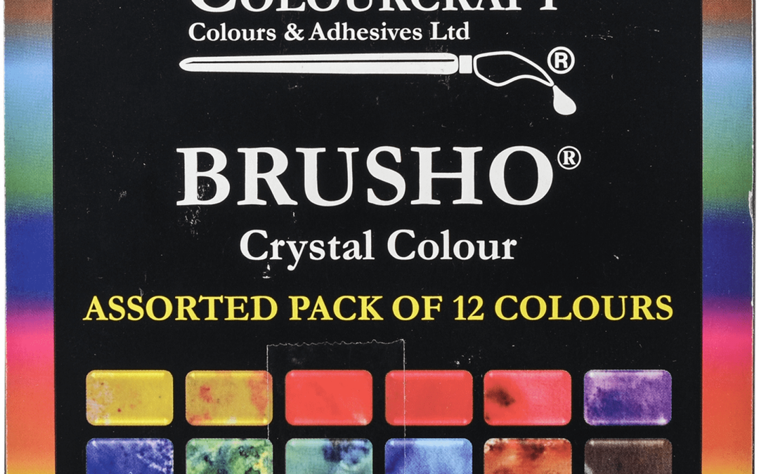 Brusho Watercolour Crystals