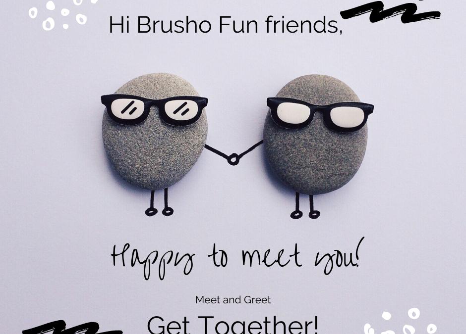 Brusho Fun Meet and Greet