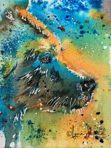Grizzly Blue Demonstration by Lynn Shield