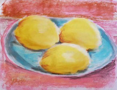 Pastel Lemon Demonstration